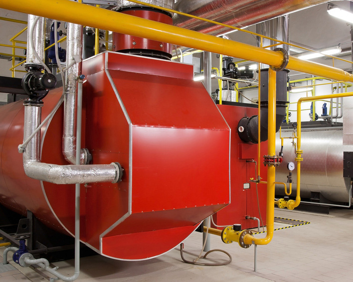 STEAM BOILER PLANT AND PROCESS PIPEWORK